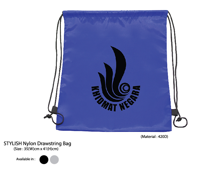 STYLISH Nylon Drawstring Bag