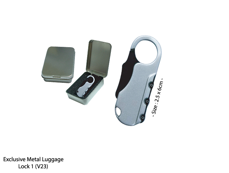 Exclusive Metal Luggage Lock 1 (V23)