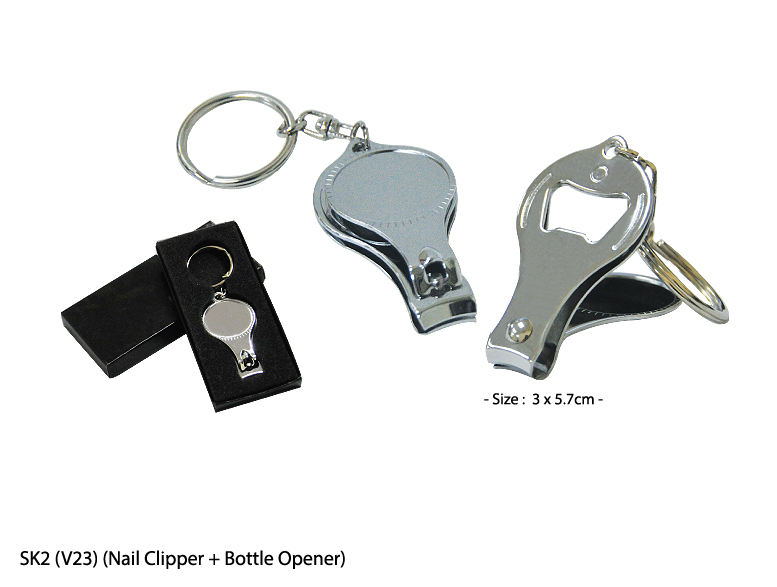 SK2 (V23)  - Nail Clipper + Bottle Opener