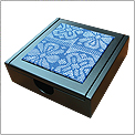 PW001 (V23) - Wooden Songket Memo Box