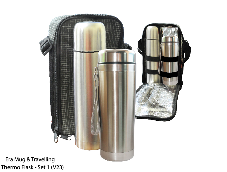 Era Mug & Travelling Thermo Flask Set - Set 1 (V23)