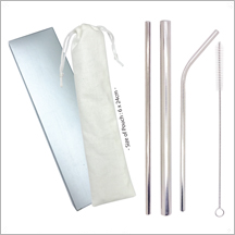 Set 2 (V23) - Small - ECO Stainless Steel Straw Set 2 (V23) - Small