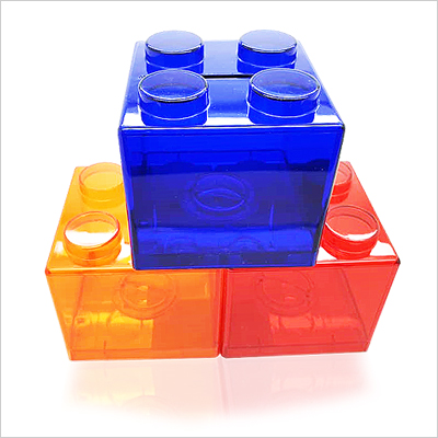 Coin Box - Children Brick Coin Box